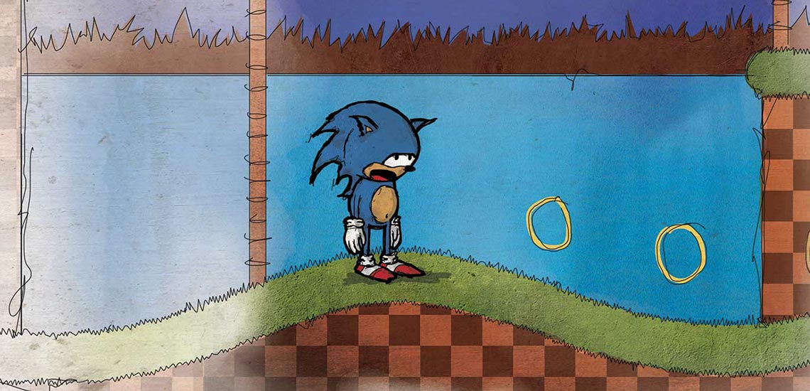 Sonic the Hedghog Retro Video Game Comic Preview
