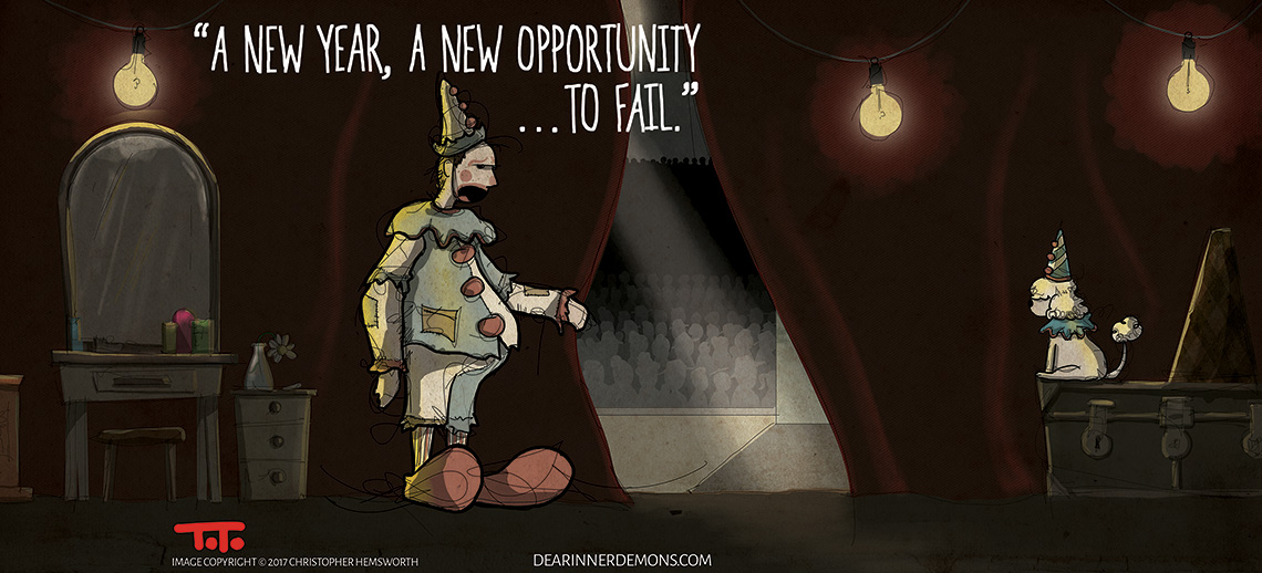 A New Year, a new opportunity...to fail.