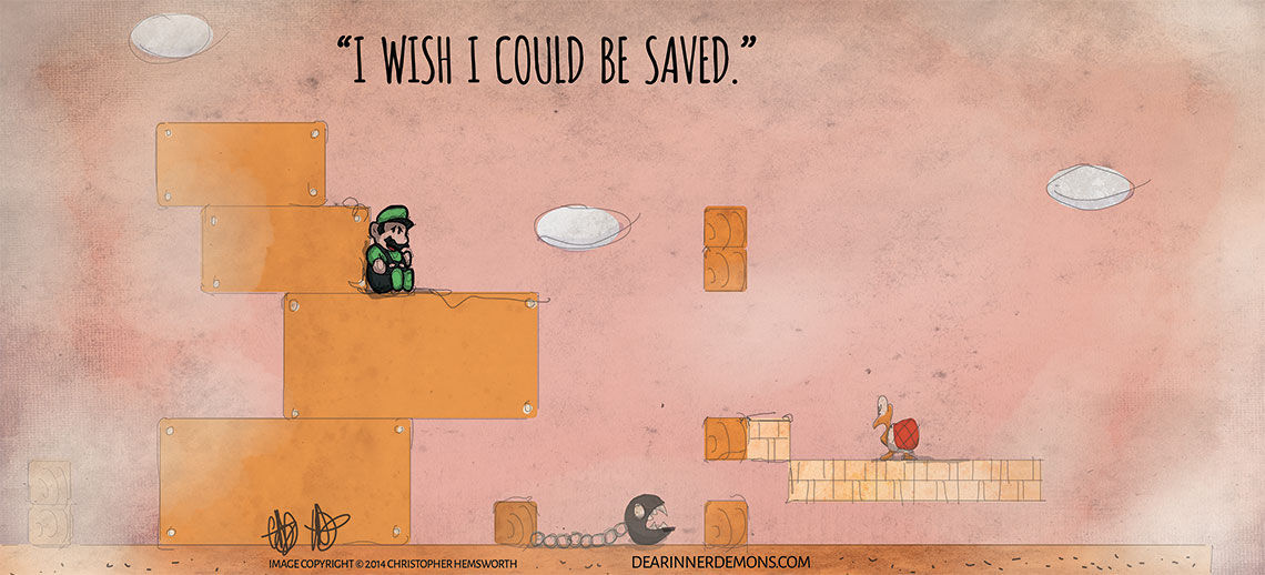 I wish I could be saved.