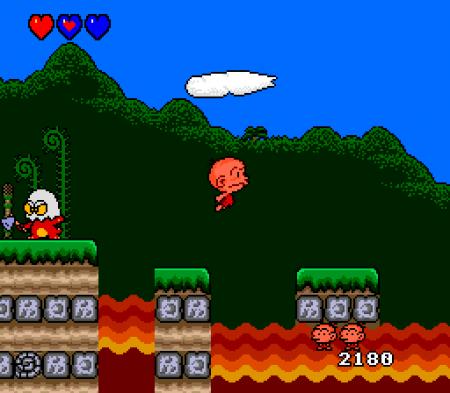 Consolas Raras, Prototipos, o Desconocidas Bonk-gameplay
